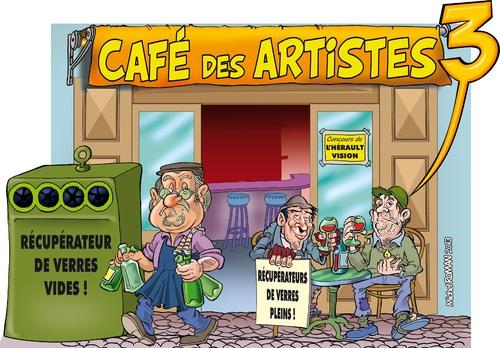 """Affiche du spectacle """"Café des Artistes"""""""