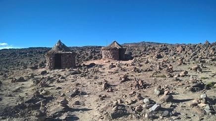 Plateau à 4910 m d'altitude