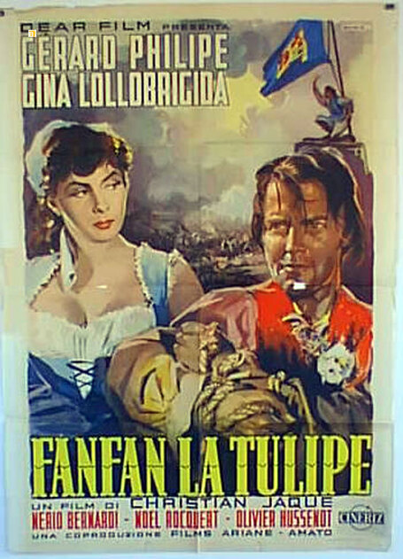 FANFAN LA TULIPE - GERARD PHILIPE BOX OFFICE 1952