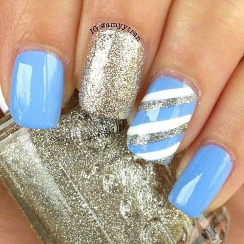 Easy Winter Nail Art Designs: