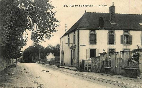 Les souvenirs de Pierre Roy : la Poste à Aisey sur Seine de 1830 à 1914
