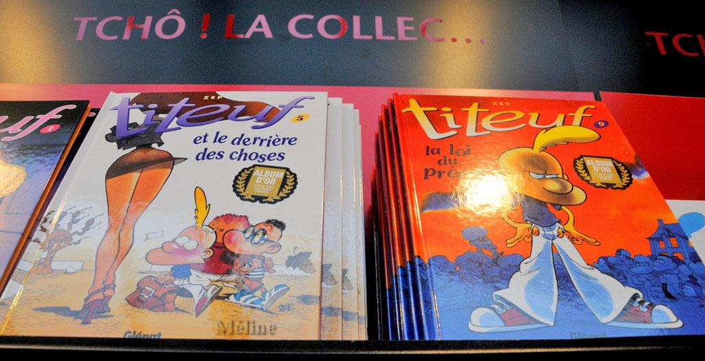 Le festivalk de la BD à Angoulême ()