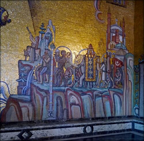 Einar Forset n° 3 Mozaïques de la salle d'or