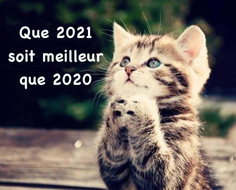 Bonne année 2021 à tous!