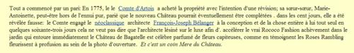 """""""""""  A  PARIS.- * LE CHÂTEAU de BAGATELLE* & SES JARDINS."""""""""""