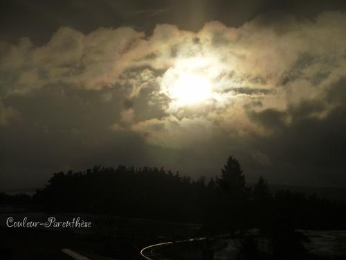 Ciels et paysages dessous ma fenêtre!