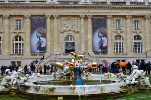 Niki de Saint-Phalle arbre de vie fontaine 4
