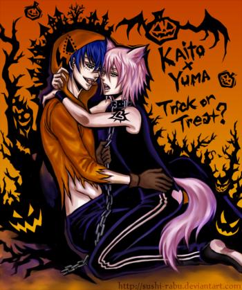 happy halloween - kaito x yuma by sushi-rabu