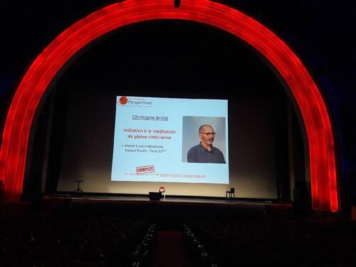 Conférence de Christophe André au Grand Rex...
