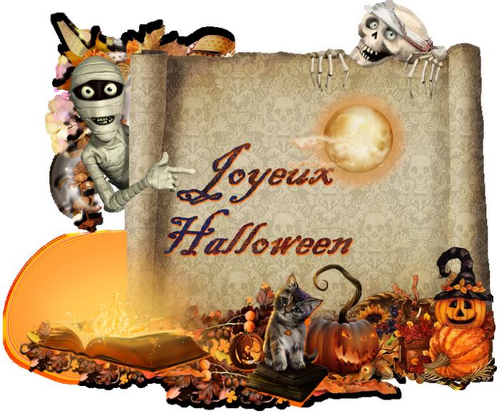 cluster joyeux halloween