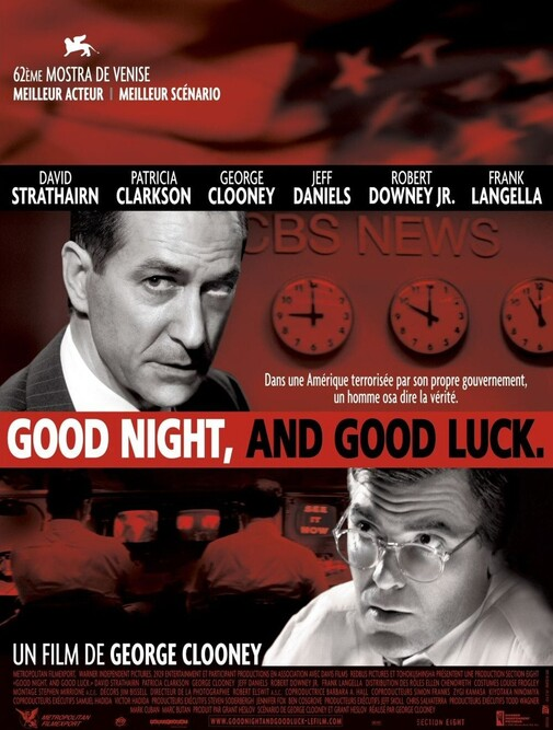 GOOD NIGHT, AND GOOD LUCK. BOX OFFICE FRANCE 2006