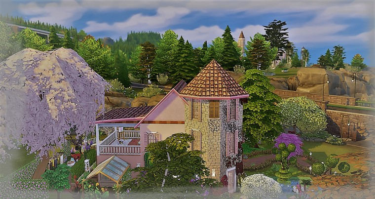Maison sims4 Charme