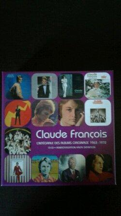 Mes nouvelles acquisitions Livres et Coffrets CD Claude François