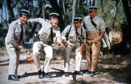 """Film """" Les gendarmes de Saint-Tropez """""""