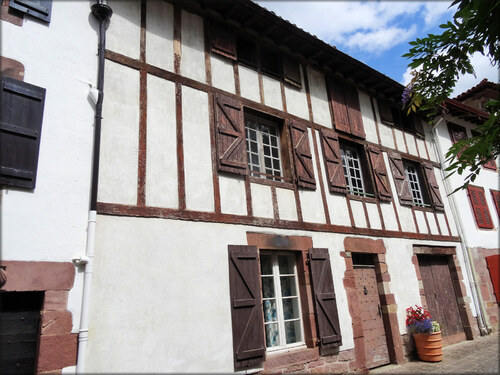 Les maisons de Saint Jean pied de Port