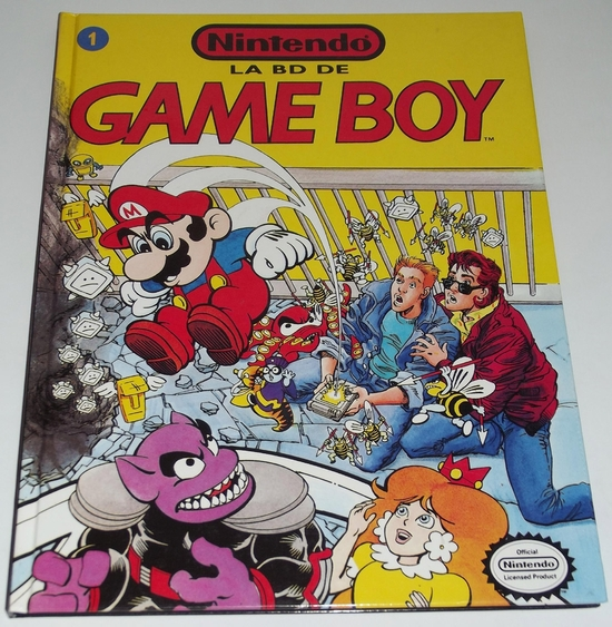 Livre bd game boy