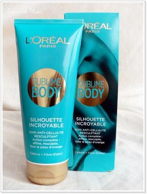 Sublime Body Silhouette Incroyable de L'Oréal, le test
