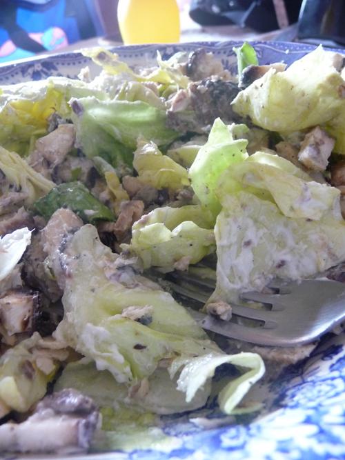 salade et sardine dukan