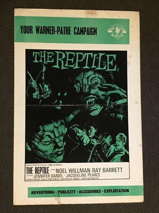 THE REPTILE BOX OFFICE USA 1966