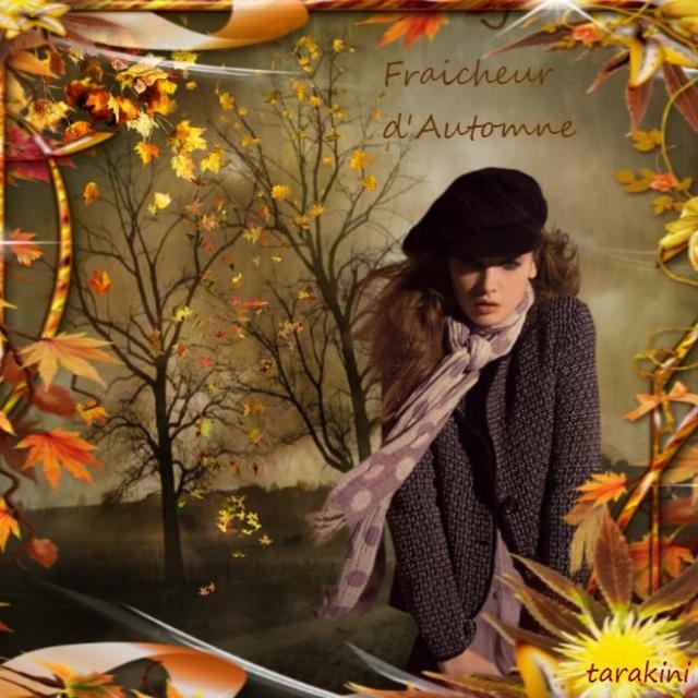 """Défi """"Fraîcheur d'automne"""""""