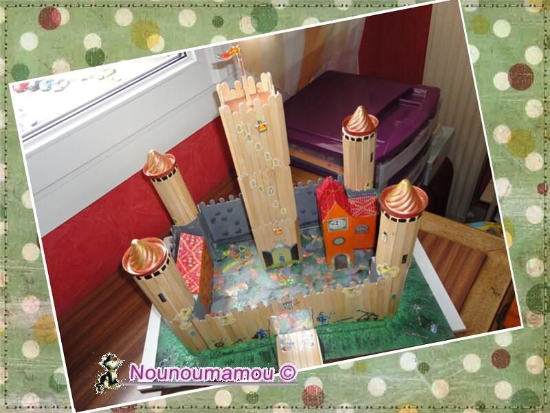 Finitions du château