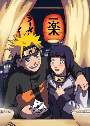 Naruto et Hinata au resto
