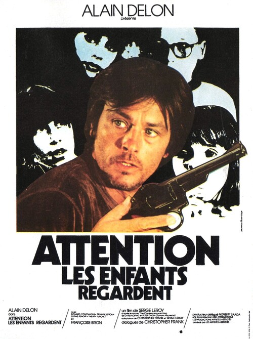 ATTENTION LES ENFANTS REGARDENT- BOX OFFICE ALAIN DELON 1978