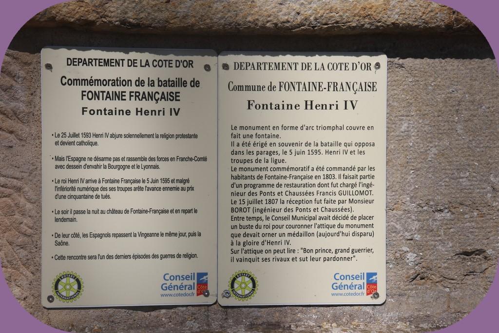 FONTAINE FRANÇAISE (CÔTE D'OR)