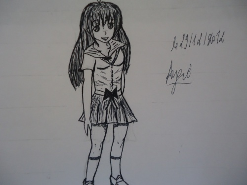 Mon premier essai de manga entier