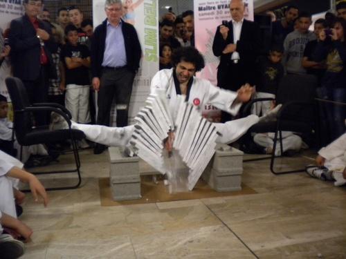 Record du monde de casse de marbres 2011