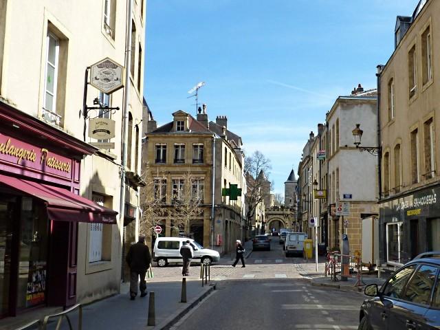 Chantier rue des Allemands 1 Marc de Metz 2011