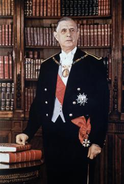 Général Charles de Gaulle (1890-1970)