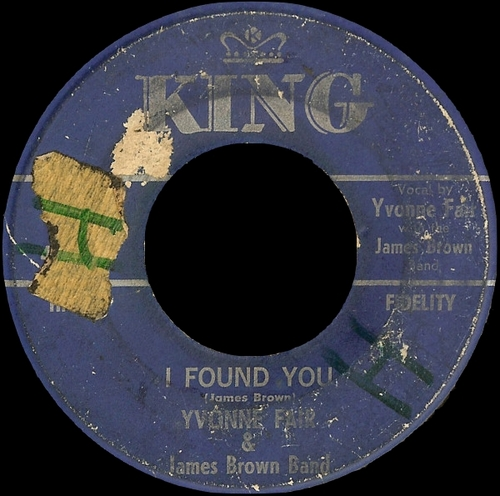 1962 Yvonne Fair & James Brown Band : Singles SP King Records 45-5594 [ US ]