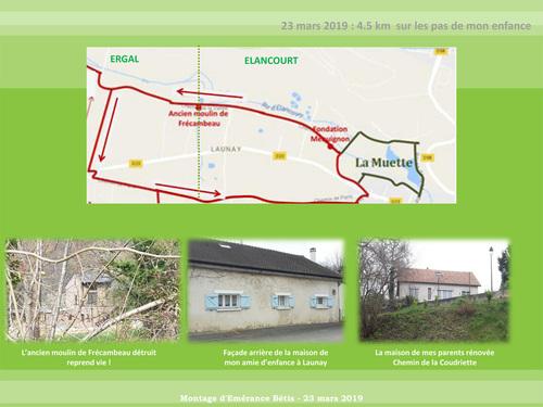 4,5 km sur les pas de mon enfance