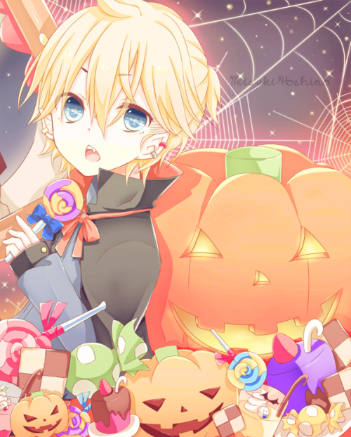 Image de anime, Halloween, and vocaloid