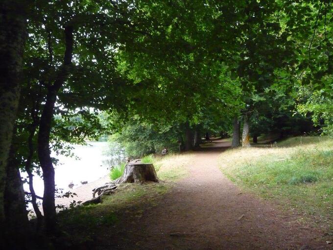 Le lac du Bouchet  (Haute Loire)  photos  anne.L