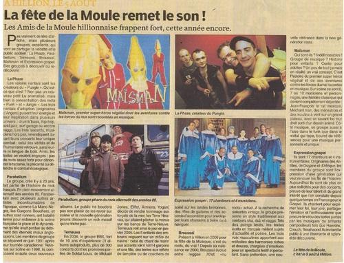 La fête de la Moule remet le son ! 02/08/2007