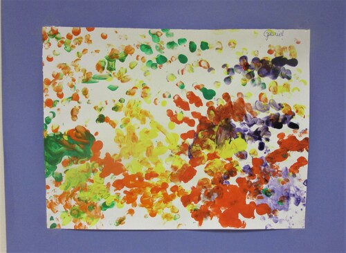 PS/MS/ Empreintes du doigt / Partir d'une œuvre d'Art
