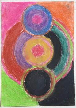 A la manière de Sonia Delaunay