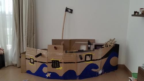 Notre bateau Pirate