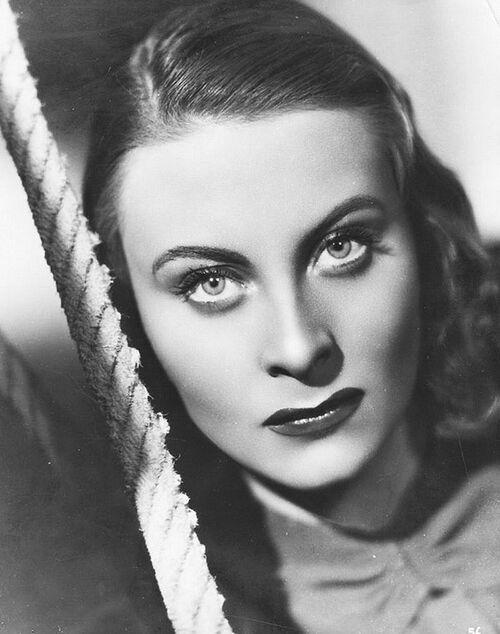 Née le 29 Février 1920, Michèle Morgan, actrice et chanteuse, Poissons ascendant Taureau, Lune en Cancer