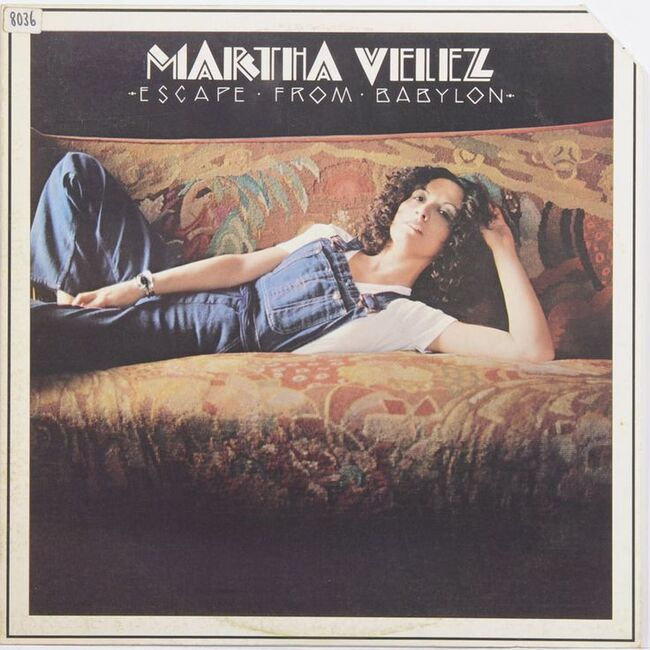 Martha Velez - Escape From Babylon (1976) [Reggae]
