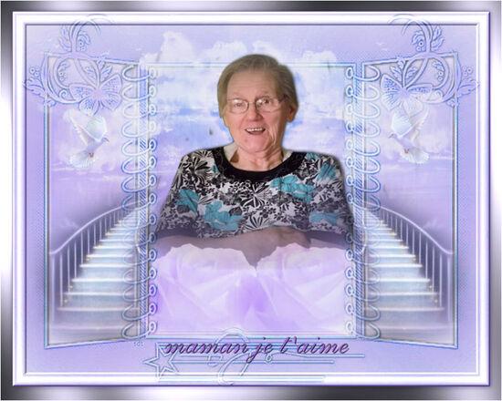 hommage à ma maman