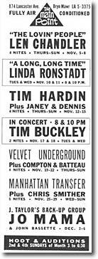 La Saga du Velvet - épisode 21 - août -novembre 1970