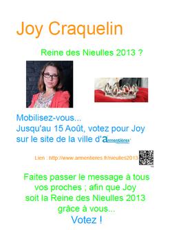 Votez pour Joy !!!