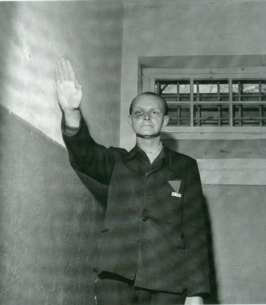 Klaus Hornig, kapo de Buchenwal, avril 1945