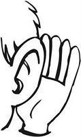 Dieu a fait mes oreilles... pour entendre !
