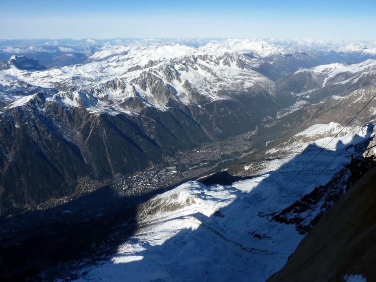 Chamonix et Aiguilles Rouges