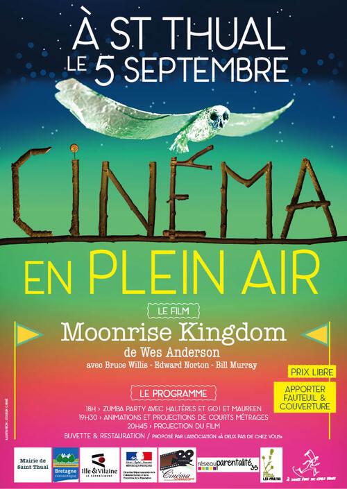 Samedi 5 Septembre : Cinéma en plein air à Saint Thual