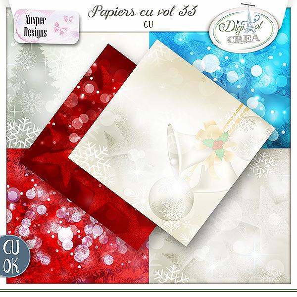 Papiers Cu vol 33 de Xuxper Designs